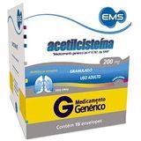 ACETILCISTEINA 200 MG 16 ENVELOPES COM 5 GRAMAS