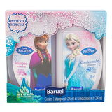 KIT PRINCESAS FROZEN SHAMPOO + CONDICIONADOR 230ML