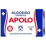 ALGODÃO APOLO SANFONADO CAIXA 25G
