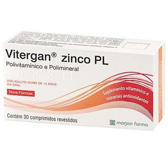 VITERGAN ZINCO PLUS 30 COMPRIMIDOS