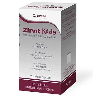 ZIRVIT KIDS SUSPENSÃO ORAL PEDIÁTRICO 150ML