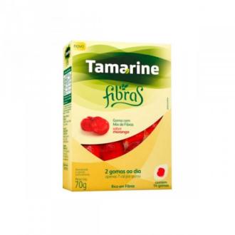 TAMARINE FIBRAS SABOR MORANGO 14 GOMAS