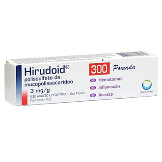 HIRUDOID 300MG POMADA 40G