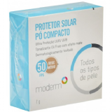 PROTETOR SOLAR PÓ COMPACTO MODERM FPS50 COR BEGE MÉDIO 7G