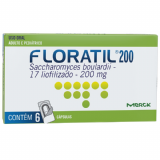 FLORATIL 200MG 6 CÁPSULAS