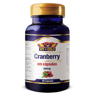 CRANBERRY 550MG VIT GOLD  60 CÁPSULAS