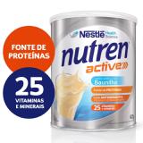 NUTREN ACTIVE BAUNILHA SUPLEMENTO ALIMENTAR LATA 400G