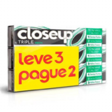 KIT CREME DENTAL CLOSE UP TRIPLE MENTA LEVE 3 PAGUE 2