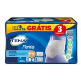 FRALDA GERIÁTRICA TENA ULTRA P/M 18 UNIDADES