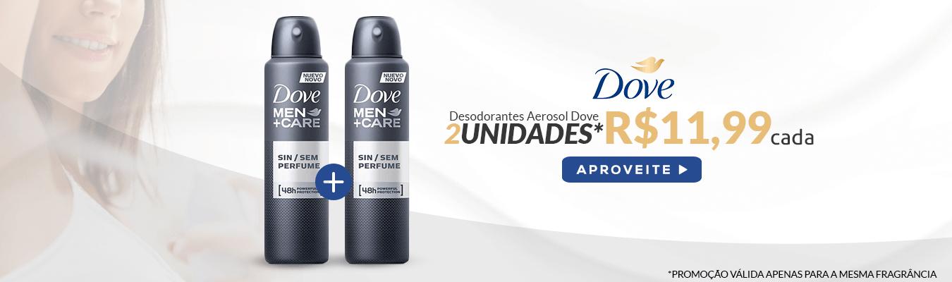 Linha Desodorante Aerosol Dove Sem Juros no Drogão