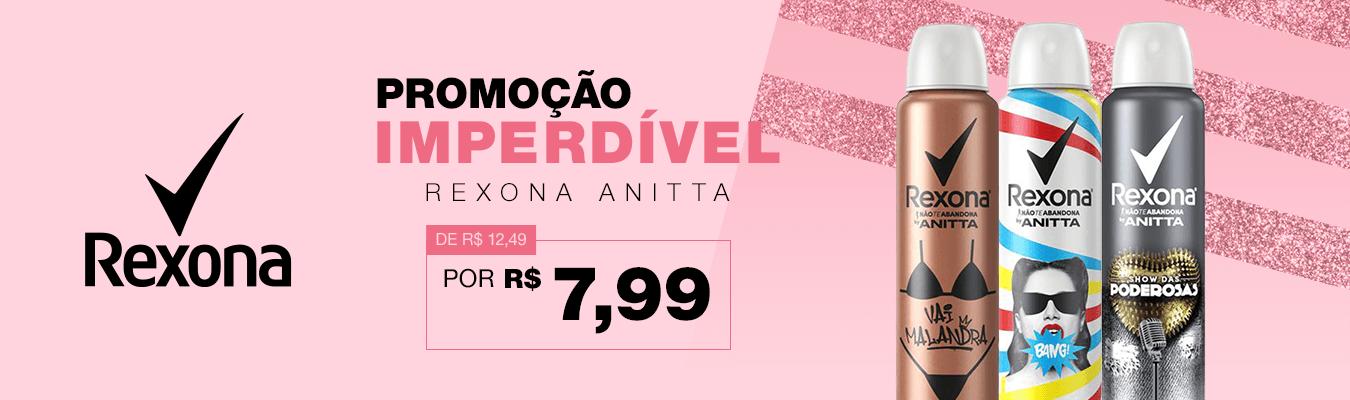 Rexona Anitta Queira Estoque Setembro
