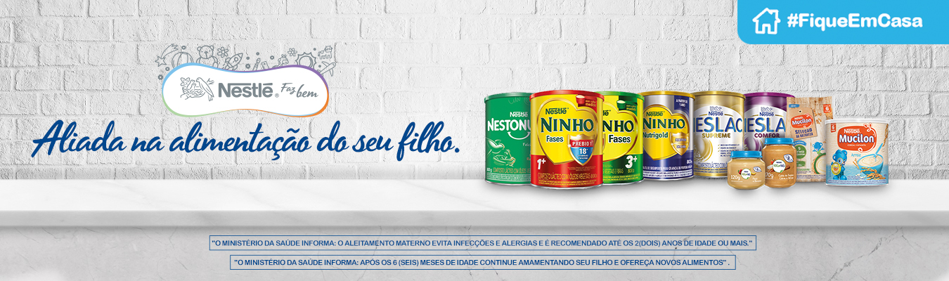 Nestle#FiqueEmCasa