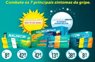 Naldecon Dia e Noite Contra a Gripe no Drogão Supe