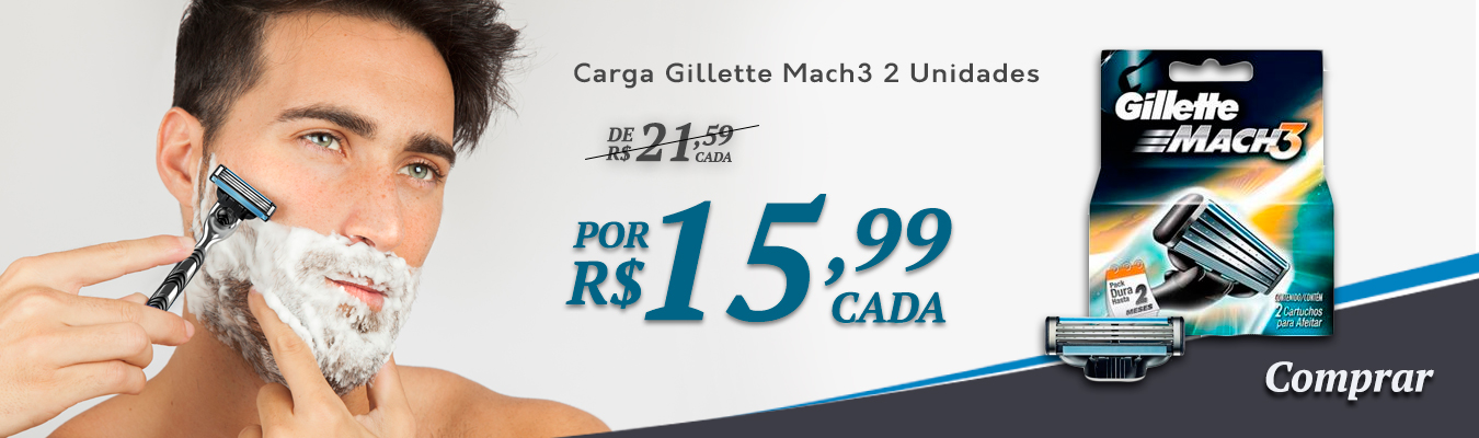 Carga Gillette Mach3