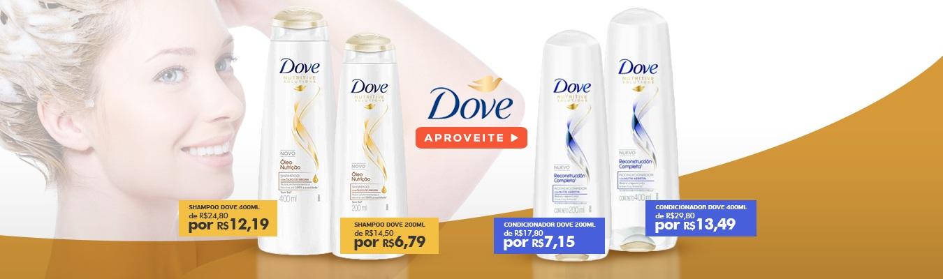 Shampoo e Condicionador Dove Full
