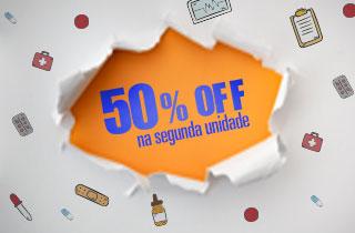 Half-50% Na Segunda Unidade- Promomix-Novembro