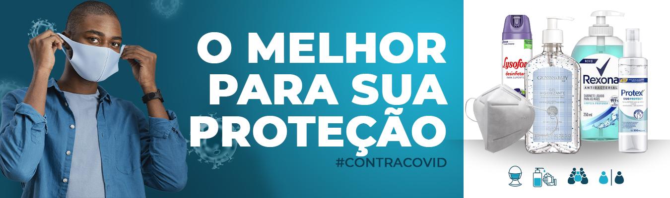 Banner prevenção - COVID