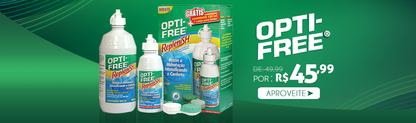 Opti-Free Replenish