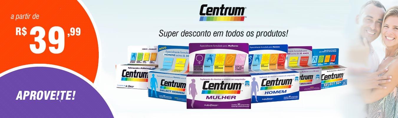 Promoção Centrum Drogão Super