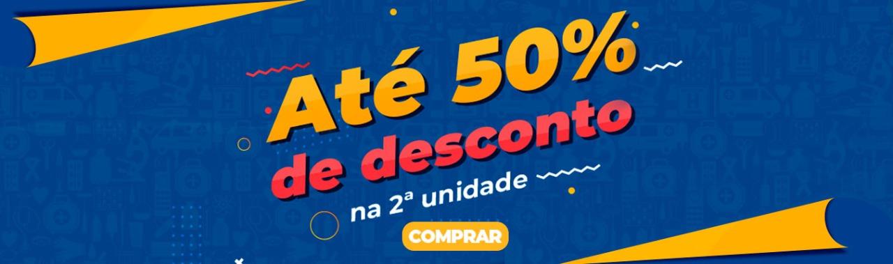 PROMOMIX JANEIRO ATÉ 50% NA SEGUNDA UNIDADE