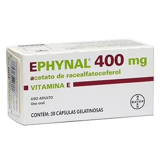 EPHYNAL VITAMINA E 400 MG 30 CÁPSULAS