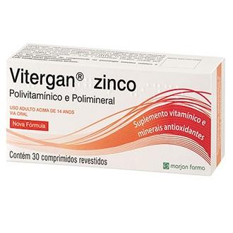 VITERGAN ZINCO 30 COMPRIMIDOS