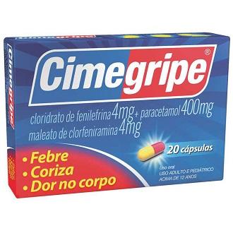 CIMEGRIPE 400MG 20 CÁPSULAS
