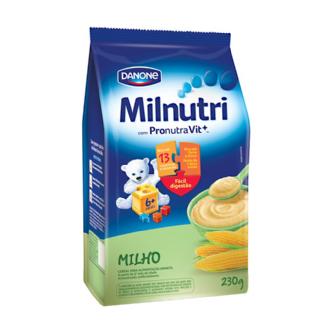 CEREAL INFANTIL MILNUTRI MILHO 230G