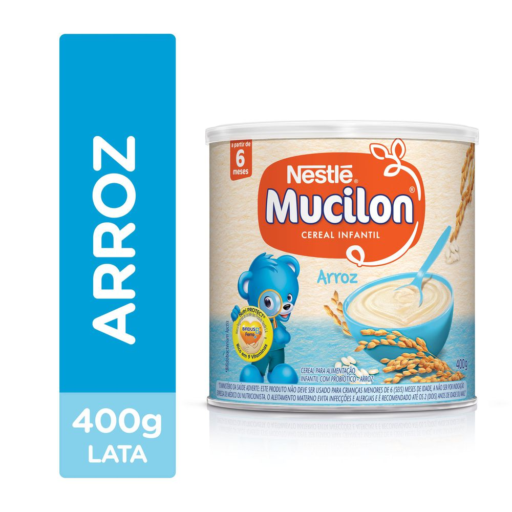 Mucilon Arroz 400g