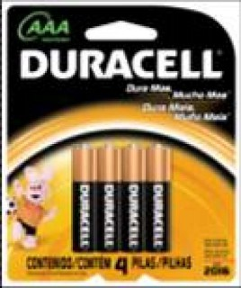Pilha Duracell palito AAA