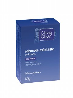 Sabonete Clean Clear anti-cravos 80g
