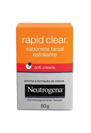 Sabonete Neutrogena Rapid Clear facial 80g