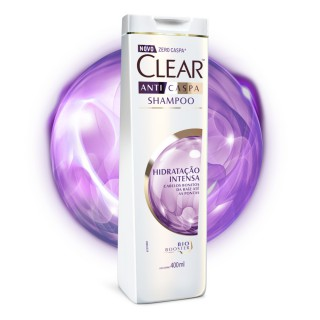 Shampoo Clear Women Hidratação Intensa 400ml