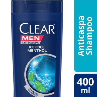 Shampoo Clear Ice cool mentol 400ml