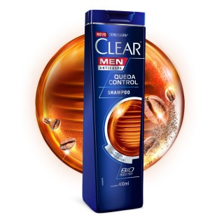 Shampoo Clear queda control 400ml