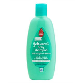 Shampoo Johnson & Johnson Baby Hidratação intensa 200ml