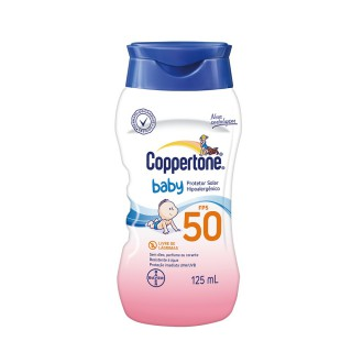 Protetor solar Coppertone FPS-50 Baby 125ml