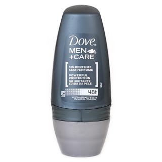 Desodorante Dove roll on men sem perfume 50ml
