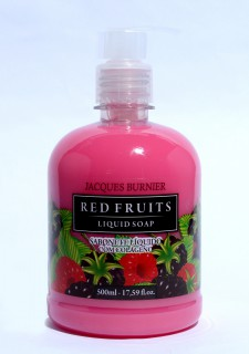 Sabonete Jacques Burnier Red Fruit com Colágeno 500ml