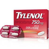 Tylenol Star Power 750mg com 4 comprimidos