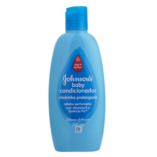 Condicionador Johnson & Johnson Baby Cheirinho Prolongado 200ml