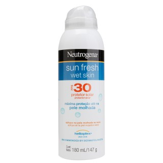 protetor solar wet skin neutrogena sun fresh fps30 180ml