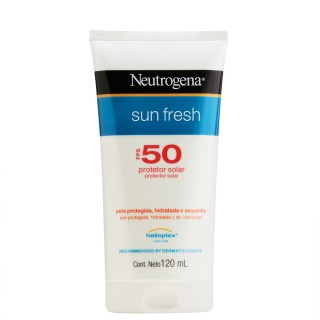 protetor solar neutrogena sun fresh fps50 120ml