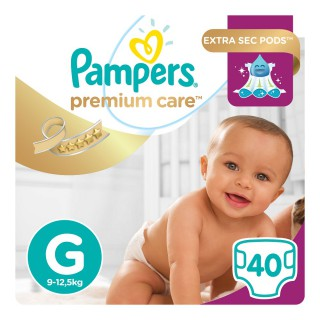 Fralda Pampers Premium Care Mega