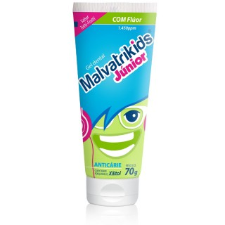 Gel dental Malvatrikids Júnior 70g