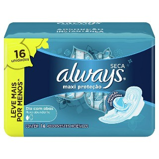 0c78336d7 Absorvente Always Active com Abas Seca Leve 16 pague 14