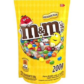 Chocolate M&M s Amendoim Pouch 200g