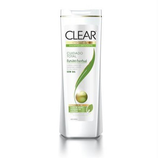 Shampoo Clear Fusão Herbal Cuidado Total 200ml