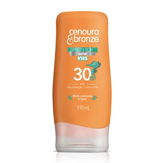 Bloqueador solar Cenoura & Bronze FPS-30 kids 110ml