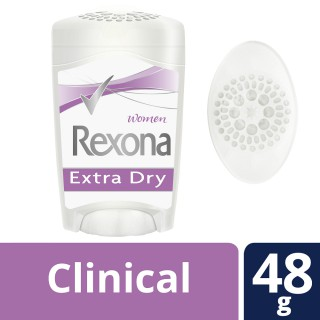 Desodorante Rexona creme clinical woman Extra Dry 48g